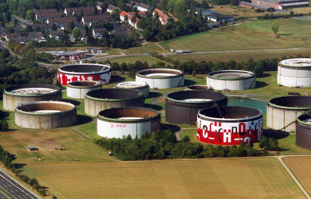 Tanks – Shell-DEA Koeln-Wesseling