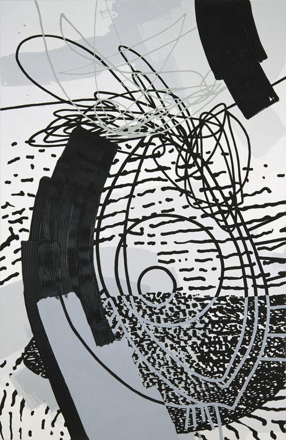 Greyscales 02 – Acryl auf Leinwand