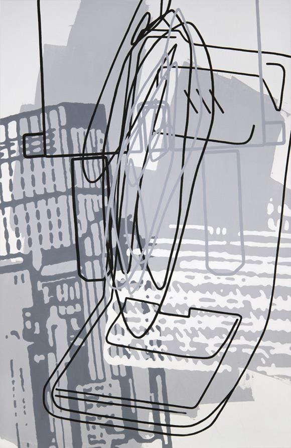 Greyscales 03 – Acryl auf Leinwand