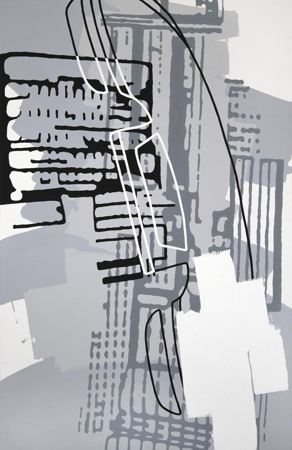 Greyscales 04 – Acryl auf Leinwand