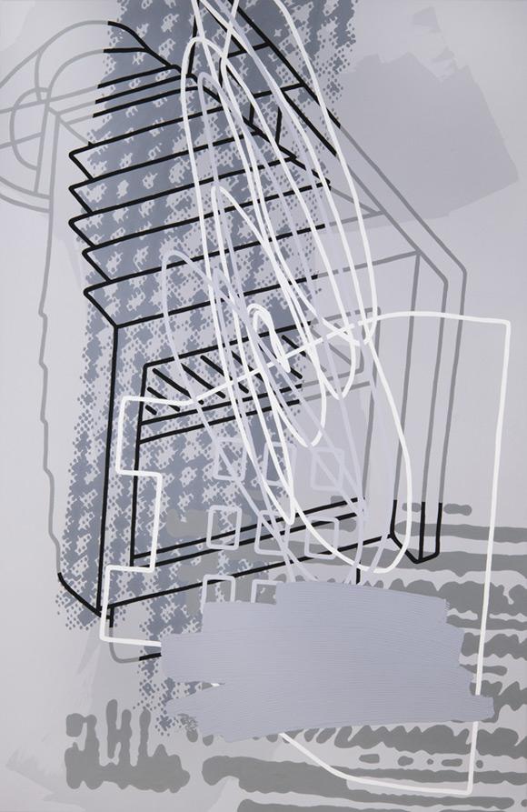 Greyscales 05 – Acryl auf Leinwand