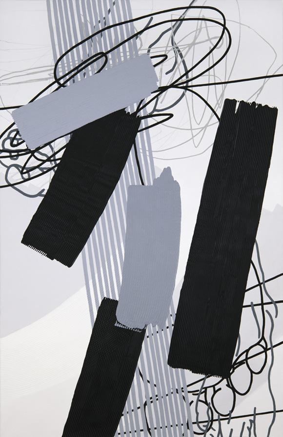 Greyscales 07 – Acryl auf Leinwand