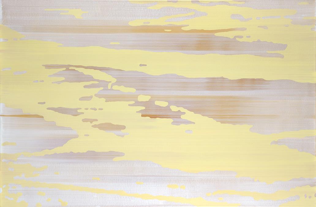 Camouflage-Stellwerk – Acryl auf Leinwand