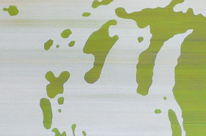 Camouflage – Acryl auf Leinwand