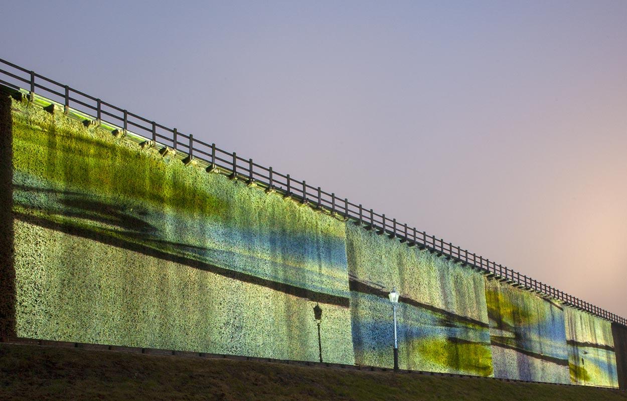 Flow05 – 1. Sichtlicht Projektionsbiennale