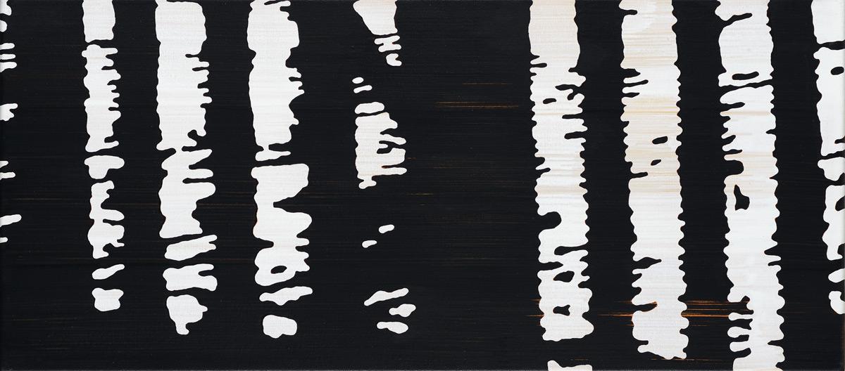 Gelaender 02 – Acryl auf Leinwand