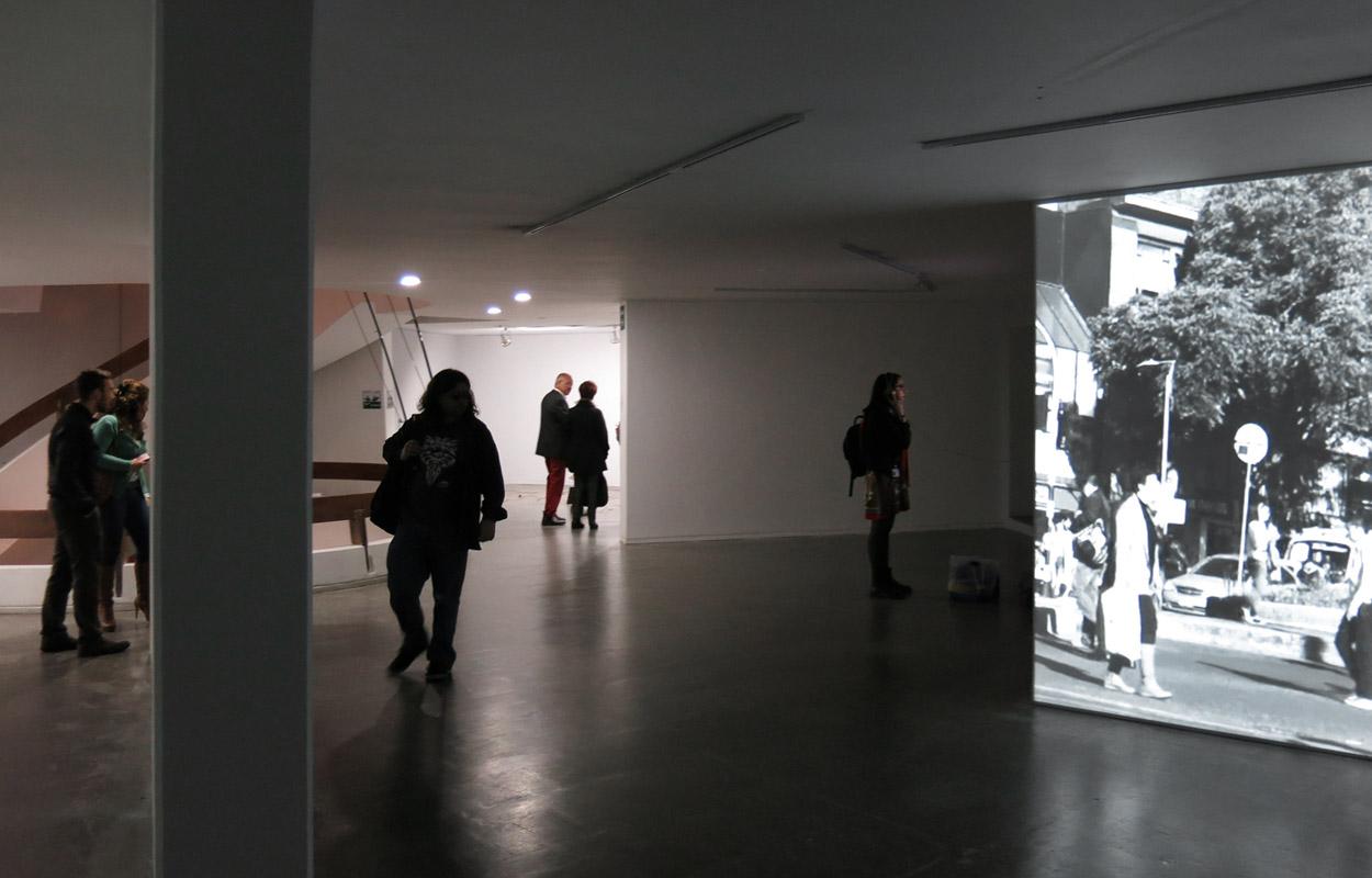 Gudrun Barenbrock – minutos de dias – Videoinstallation – Museo de Arte Contemporaneo, Bogota 2015