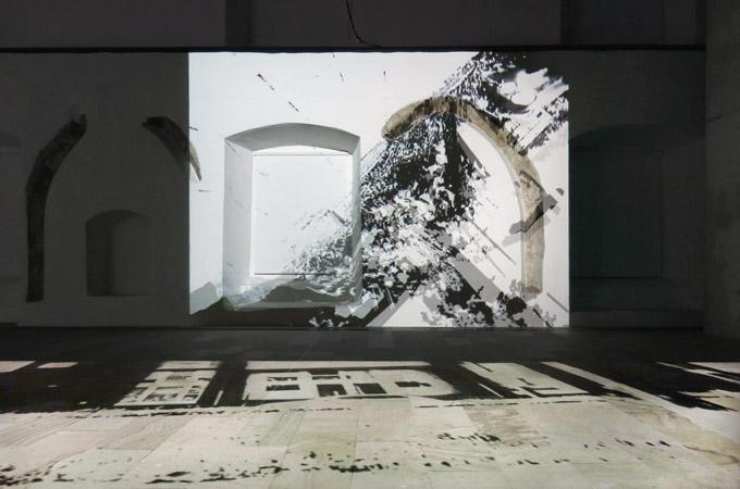 Orangerie – Mehrkanal Video- und Klanginstallation – Kunsthaus Kloster Gravenhorst 2015-2016