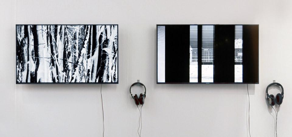 Geradeaus und hintendurch, dann links – Videoarbeit – ARTfair Koeln 2015