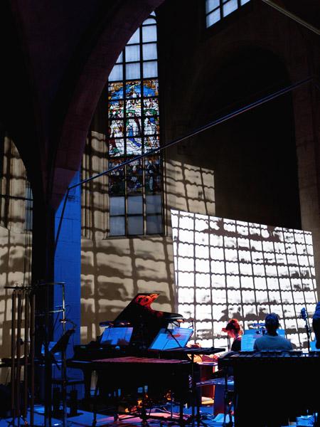 Punchcardmusic – Videoprojektionen – Kunststation Sankt Peter Koeln 2013 – Acht Bruecken Musik fuer Koeln