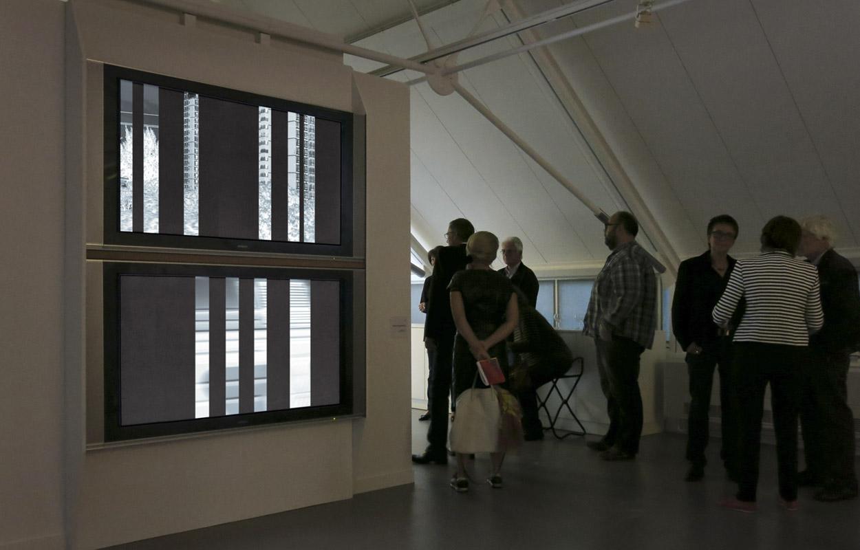 """Video """"transsib"""" – Lichtkunst in Deutschland im 21. Jahrhundert, Kunstmuseum Celle 2014"""