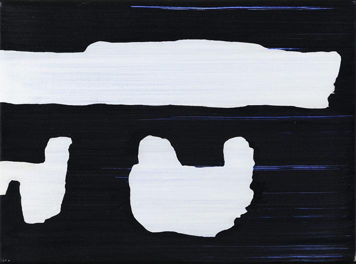 transwagon01 – Acryl auf Leinwand