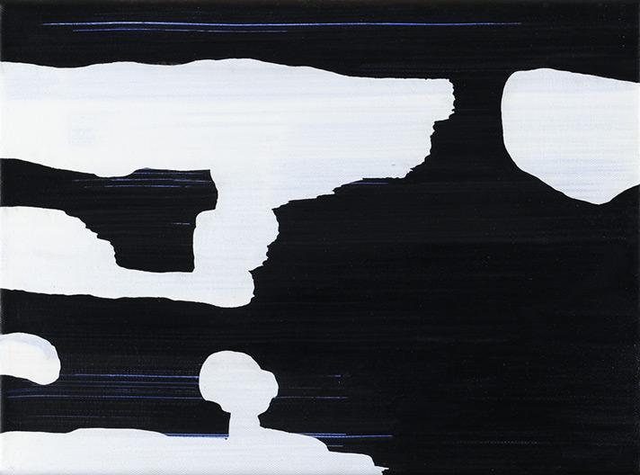 transwagon05 – Acryl auf Leinwand