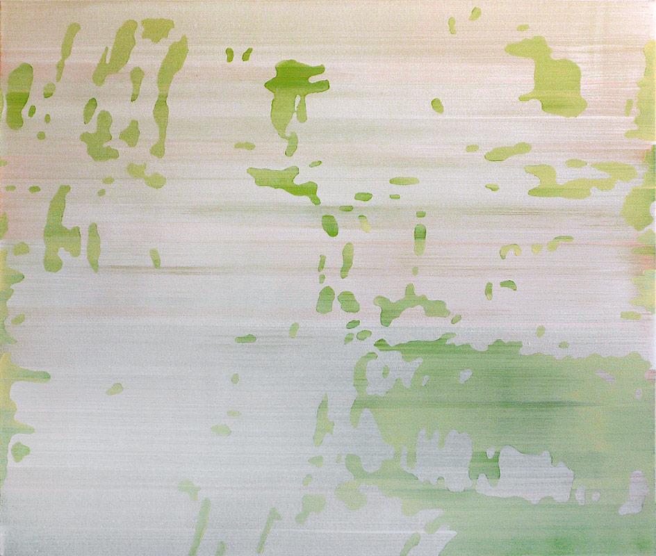 Waldsee 02 – Acryl auf Leinwand