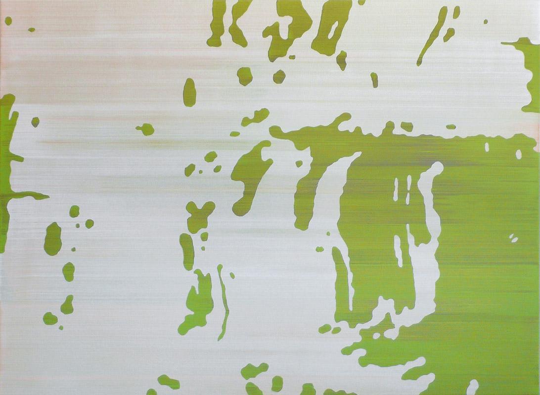 Waldsee 01 – Acryl auf Leinwand