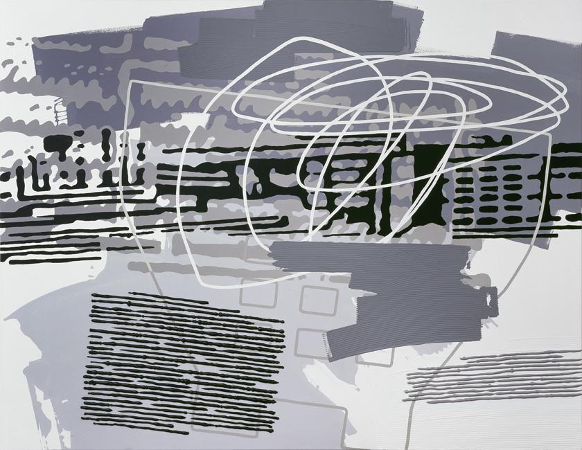 Greyscales 08 – Acryl auf Leinwand – acrylic on canvas