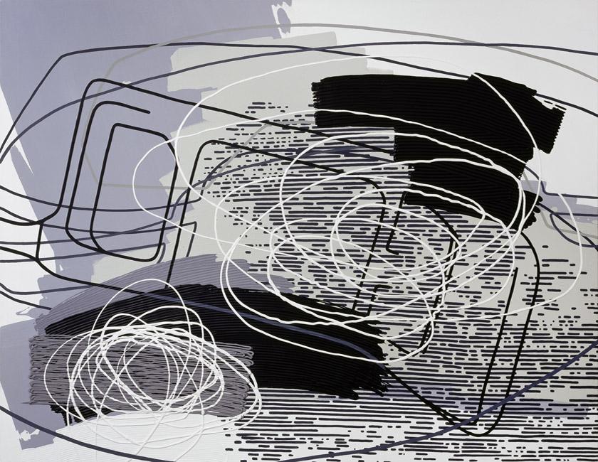 Greyscales 09 – Acryl auf Leinwand – acrylic on canvas